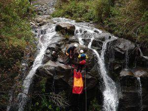 Canyoning en Chamana